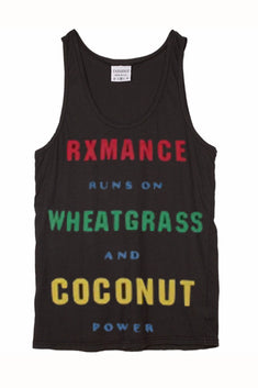 Rxmance Unisex Black Runs On Tank Top