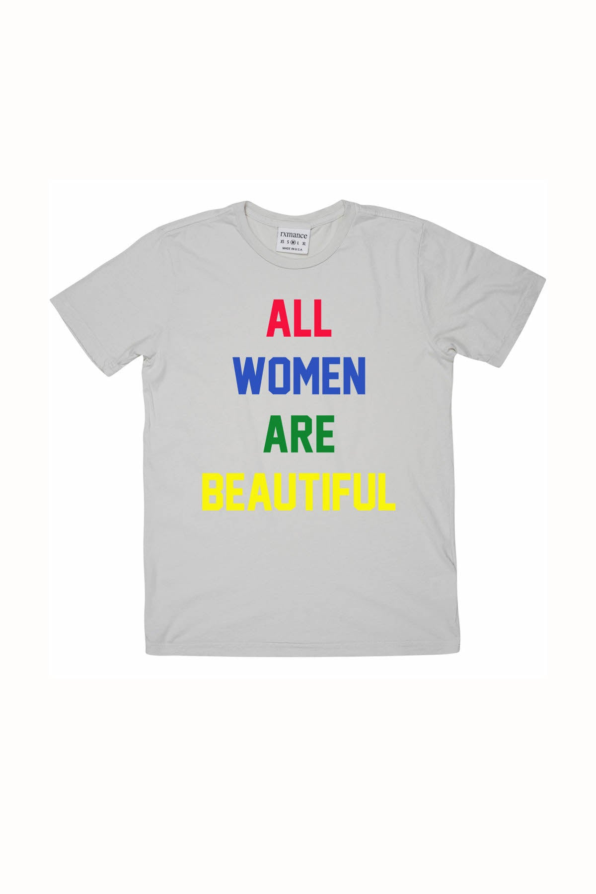 Rxmance Unisex Dawn Grey 'All Women' Tee