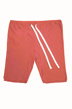 Rxmance Unisex Faded-Red Double-Layered Rec Short