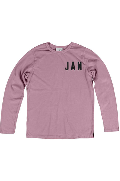 Rxmance Unisex Faded-Rose Jamaica Loose-Knit Long-Sleeve Tee - CheapUndies.com