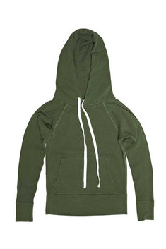 Rxmance Unisex Forest Green Hooded Sweatshirt