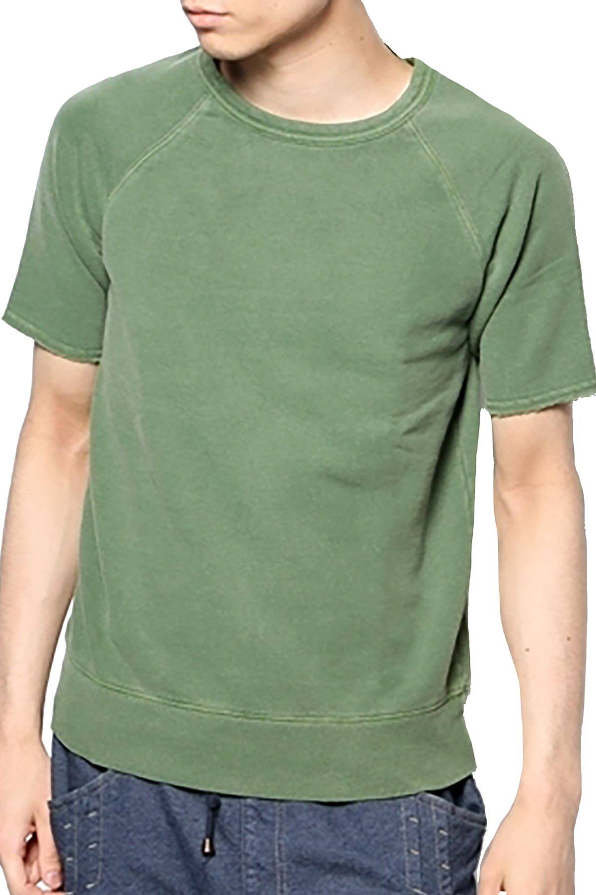 Rxmance Unisex Grass Green Short Sleeve Sweatshirt