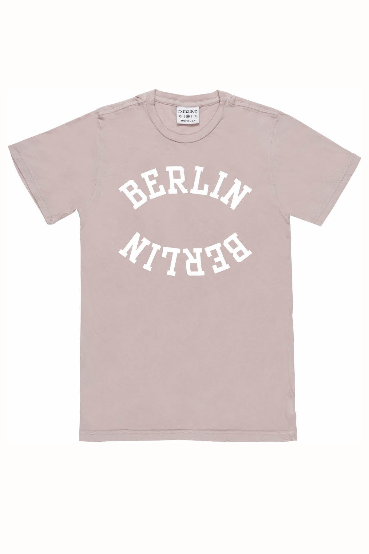 Rxmance Unisex Light Rose 'Berlin' Tee