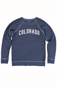 Rxmance Unisex Navy Blue Colorado Sweatshirt