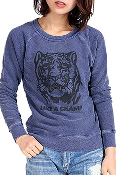 Rxmance Unisex Navy Blue Like A Champ Sweatshirt
