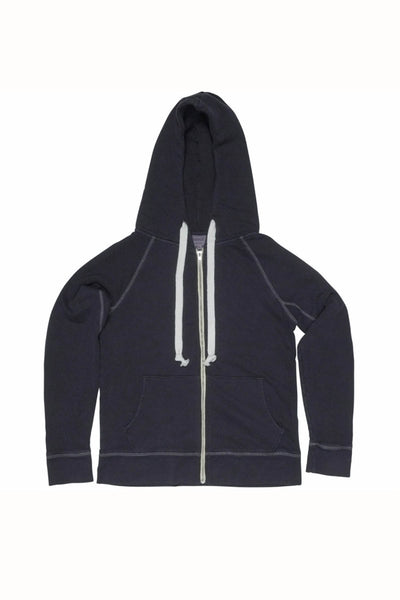 Rxmance Unisex Night Blue Hooded Zip Sweatshirt - CheapUndies.com