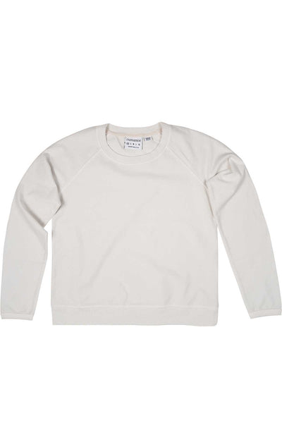 Rxmance Unisex White Sand Crew Neck Sweatshirt - CheapUndies.com