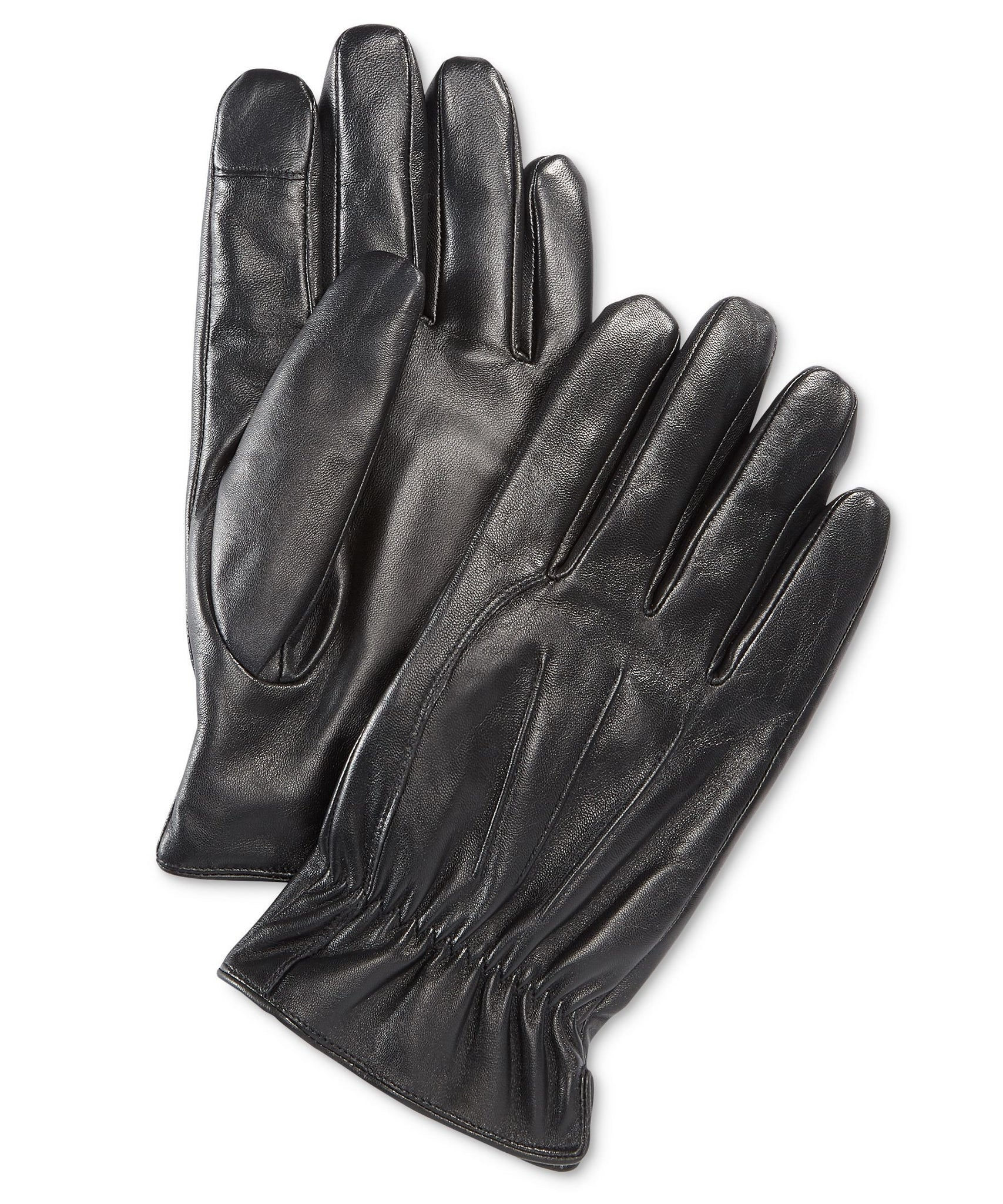 Ryan Seacrest Distinction Leather Intelitouch Gloves 001 XL