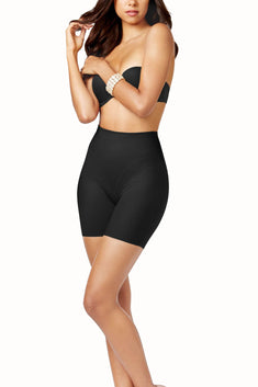SPANX Black Star-Power On-Air Thigh Slimming Short
