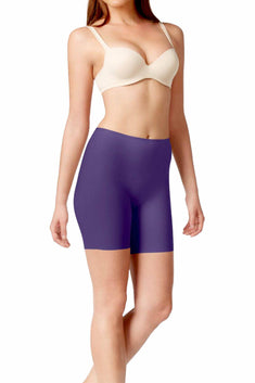 SPANX Blue-Night Light-Control Perforated Mid-Thigh Short