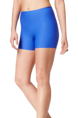 SPANX Royal-Blue Light-Control Perforated Girl Short