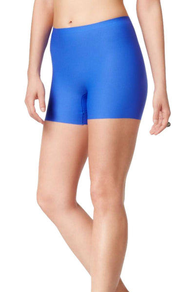 SPANX Royal-Blue Light-Control Perforated Girl Short - CheapUndies.com