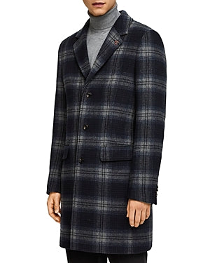 Scotch & Soda Classic Fit Single-Breasted Coat