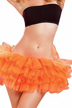 Seven 'Til Midnight Orange Tutu