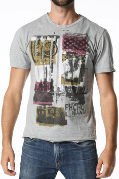 Smash PHCHO Mania Grey Graphic Tee