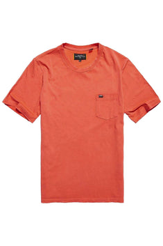 SuperDry Artisan-Red Washed Lite Tee