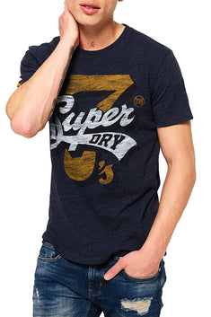SuperDry Bass Blue Grindle Super7 Tee