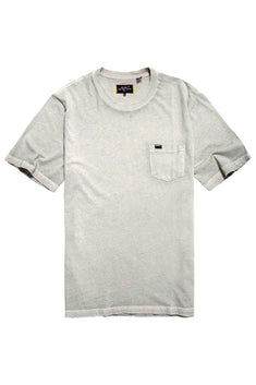 SuperDry Forest-Grey Washed Lite Tee