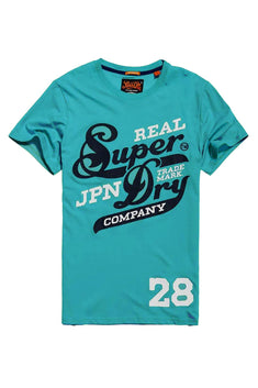 SuperDry Laser-Teal Original 77 Lite-Weight T-Shirt