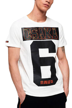 SuperDry Optic-White Osaka Tee