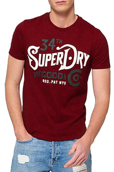 SuperDry Red-Hook Mega-Grit NYC Goods Co T-Shirt