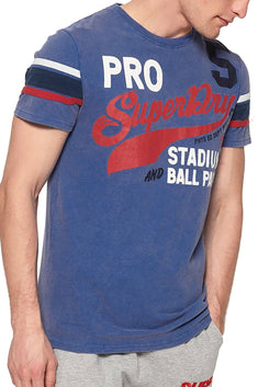 SuperDry Royal Pitch-Field Retro T-Shirt