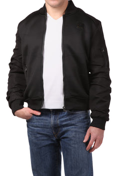 Tailored Recreation Premium Black Bomber Jacket