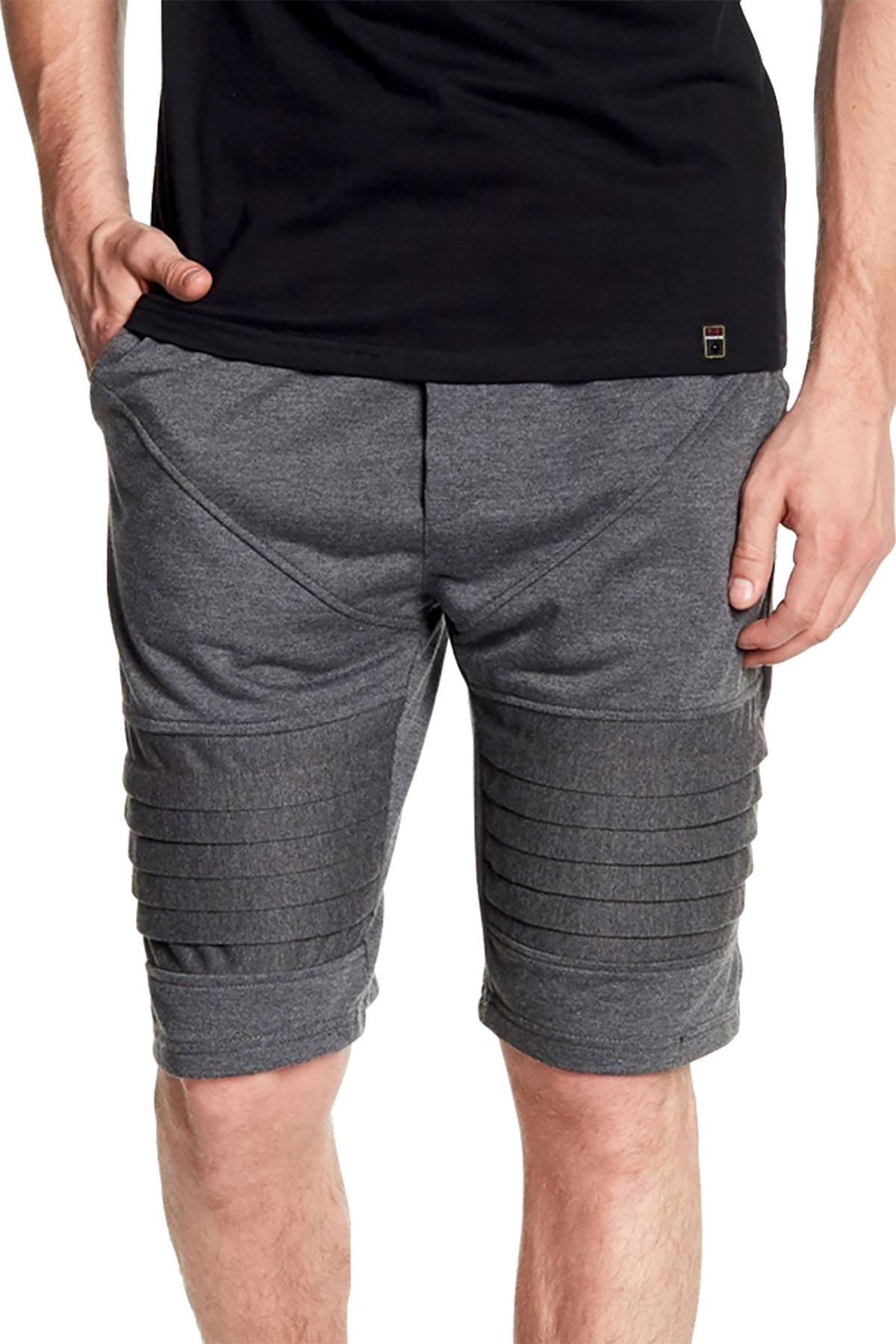 Tailored Recreation Premium Dk.Grey Solid 2-Pocket Short