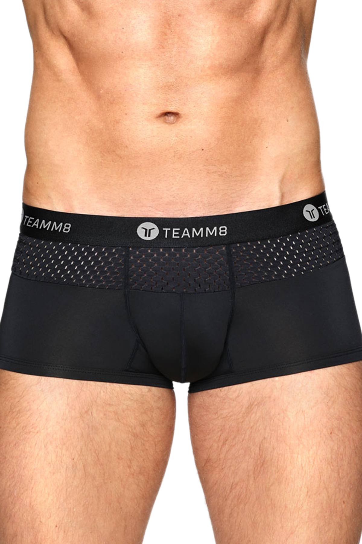 Teamm8 Black Crown Boxer Brief