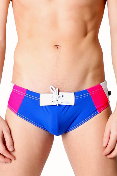 Timoteo Blue Pacifica Swim Brief - CheapUndies.com