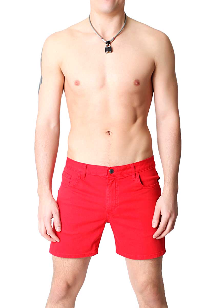 Timoteo Red Daytona Short