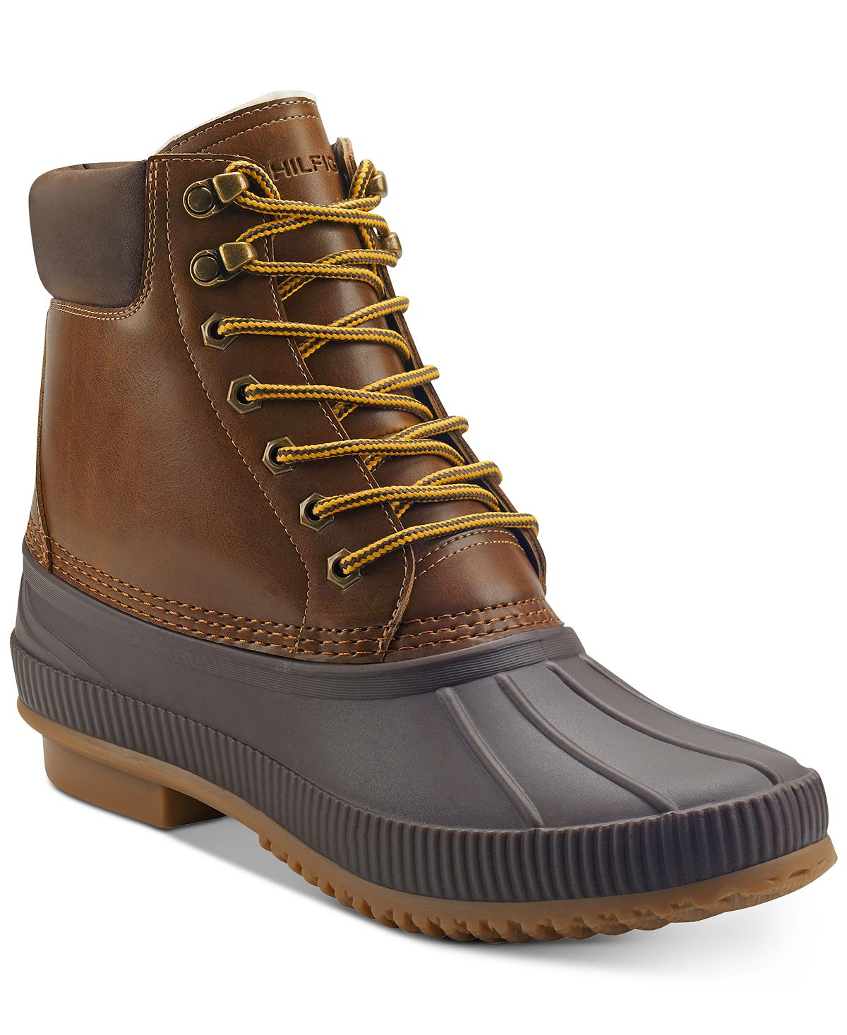 Tommy Hilfiger Colins 2 Duck Boots Dark Brown