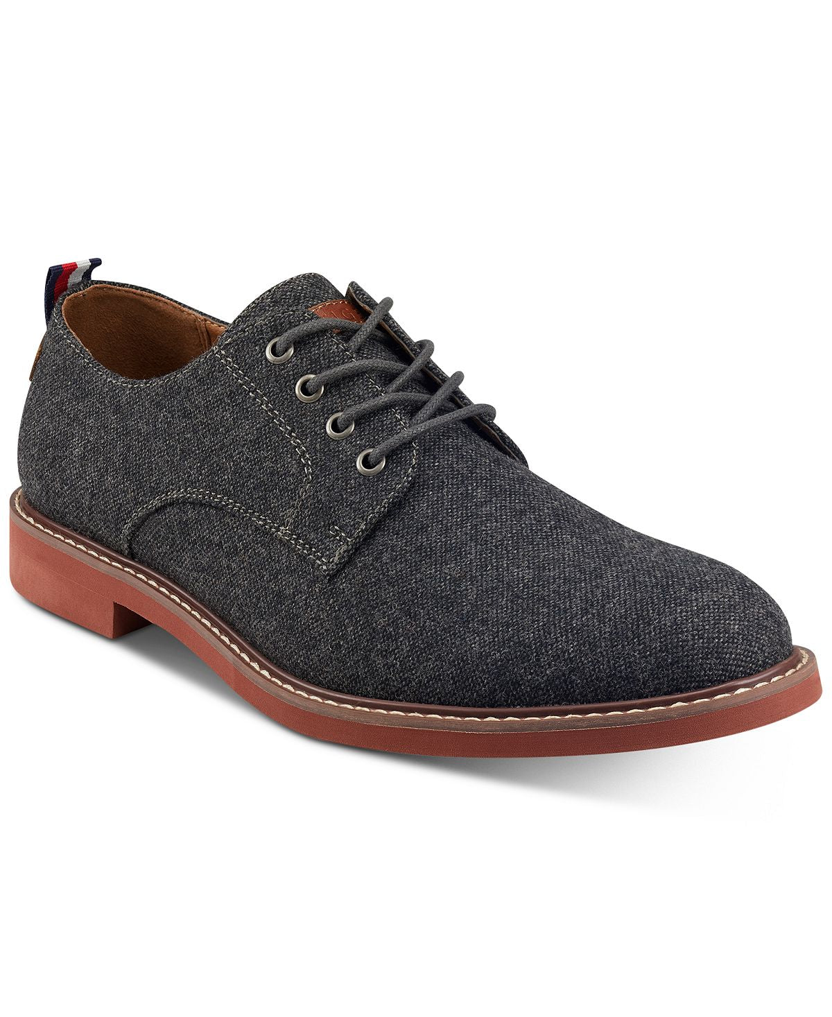 Tommy Hilfiger Garson Lace-up Casual Oxfords Charcoal