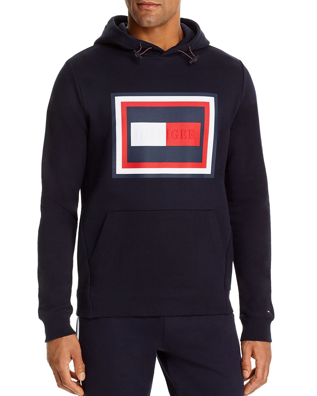 Tommy Hilfiger Graphic Logo Hooded Sweatshirt Desert Sky