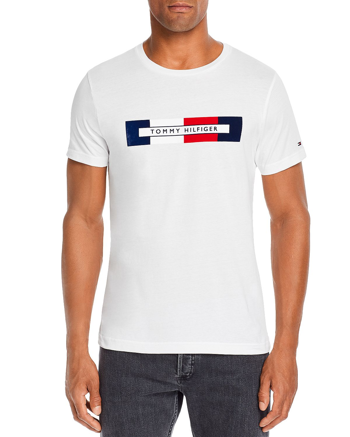 Tommy Hilfiger Graphic Logo Tee Bright White