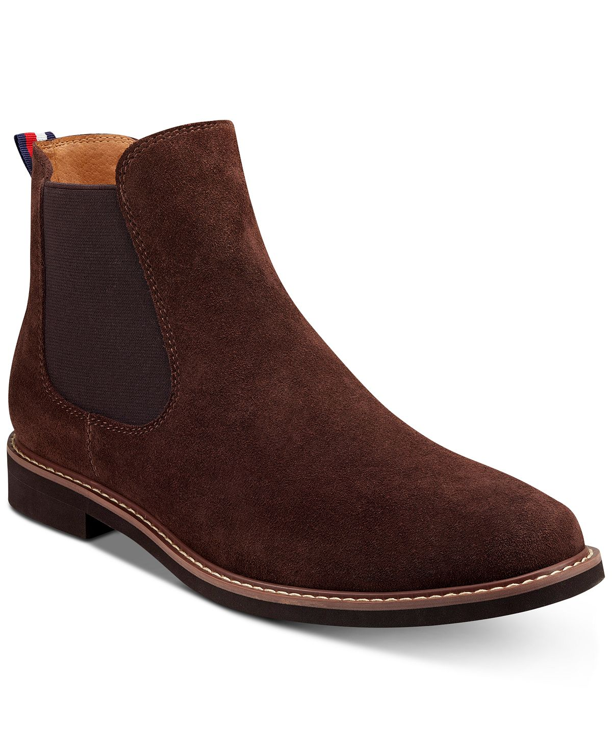 Tommy Hilfiger Greene Chelsea Boots Brown