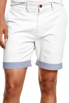Tommy Hilfiger Snow-White Custom-Fit Chino Short