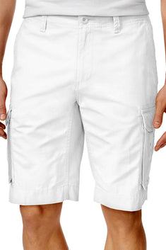 Tommy Hilfiger White Classic Cargo Short