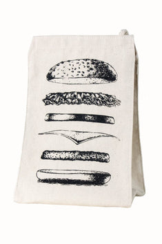 Towne9 Burger Lunch Tote