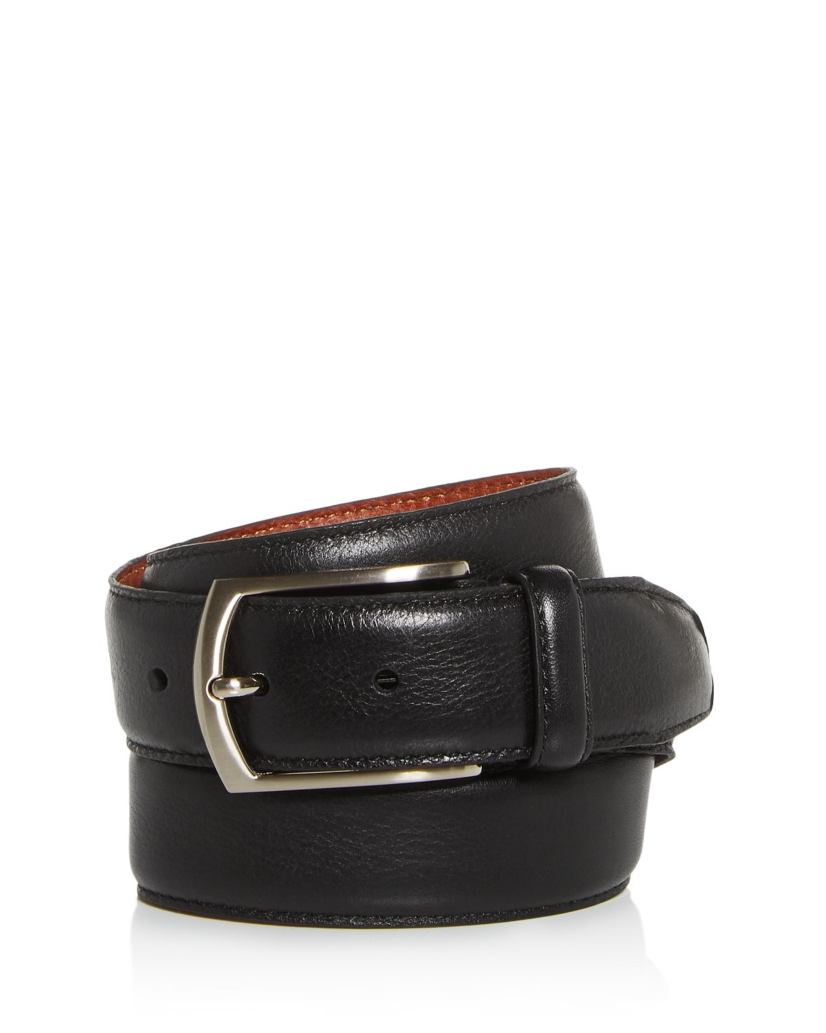 Trafalgar Antonio Leather Belt Black