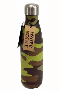 TwelveNYC Camo-Print Stainless Steel Water Bottle