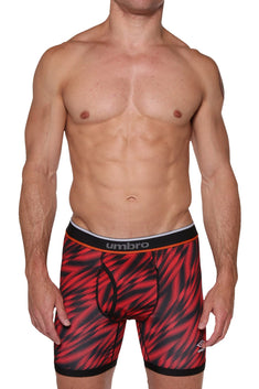 Umbro Red/Black Performance Boxer Brief