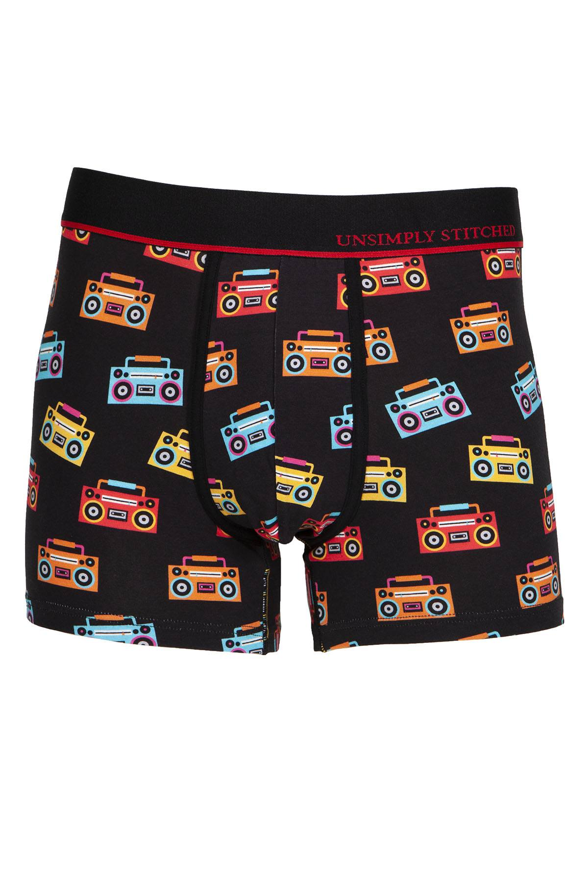 Unsimply Stitched Black Boombox Trunk
