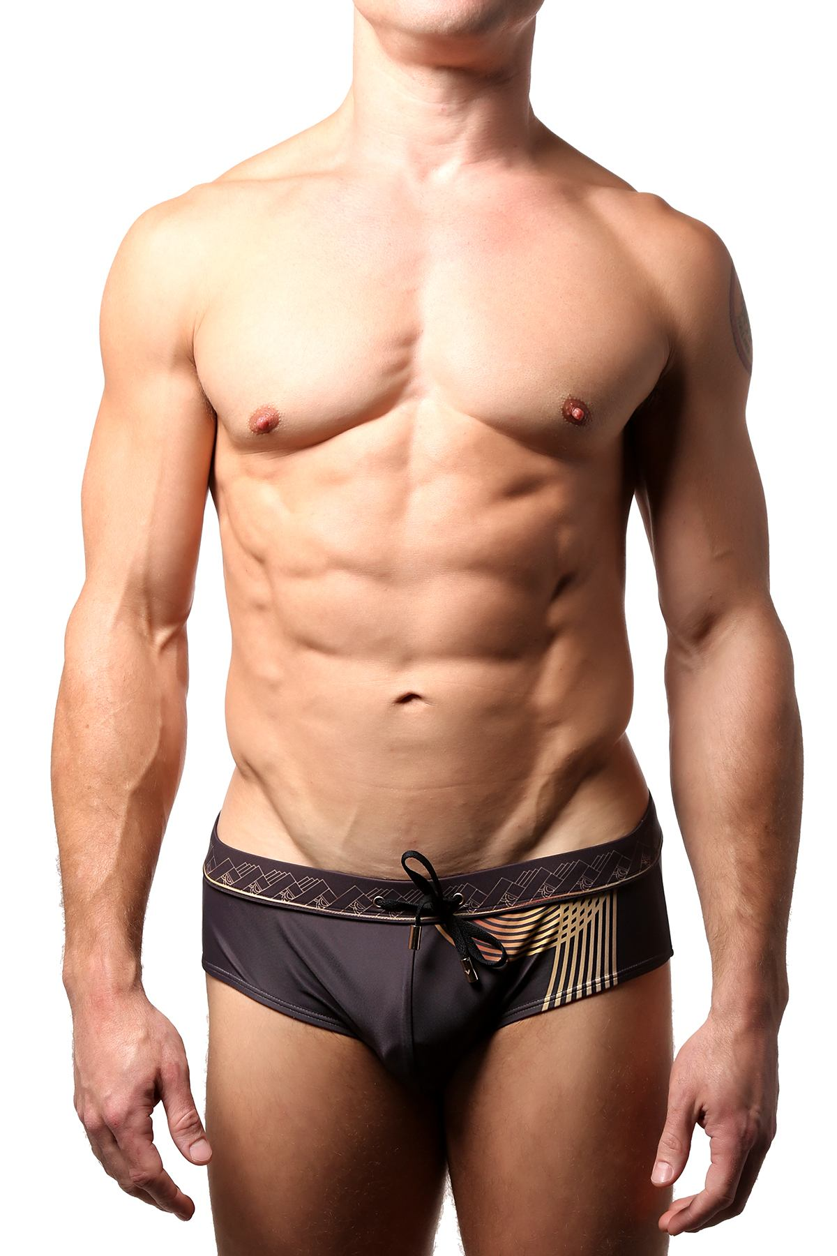 Vanwolff Sunset Tower Noir Swim Brief