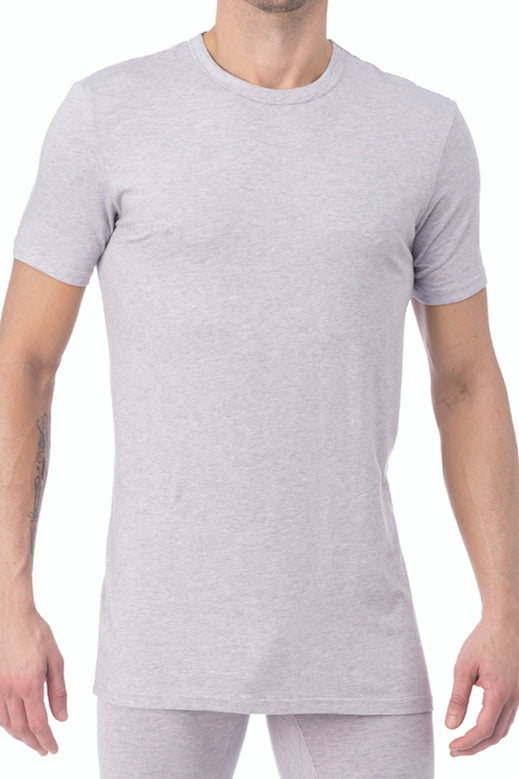 WOOD Violet Grey Crew Neck Undershirt