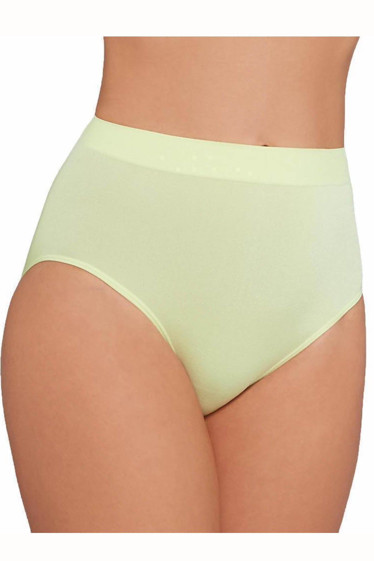 dfc7c3ba8a3b Wacoal White-Jade B-Smooth High-Cut Brief | CheapUndies