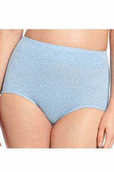 Warner's Chambray-Heather No Pinching No Problems Cotton Brief