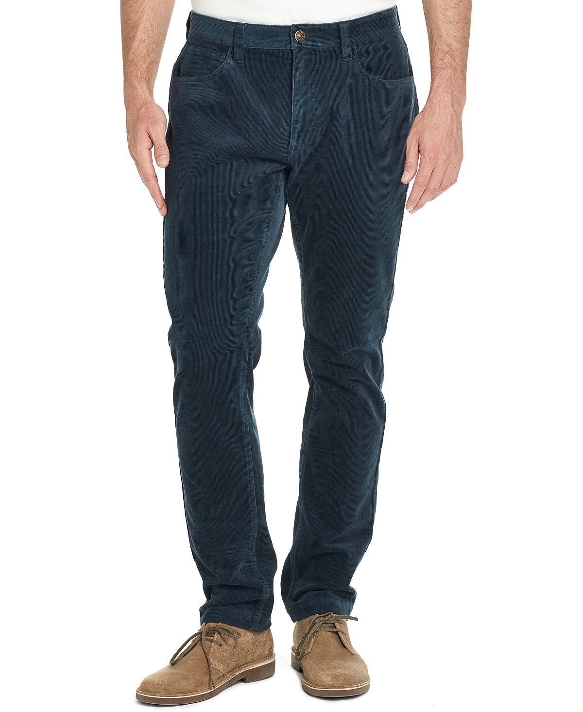 Weatherproof Vintage Stretch Corduroy Pants Ombre Blue