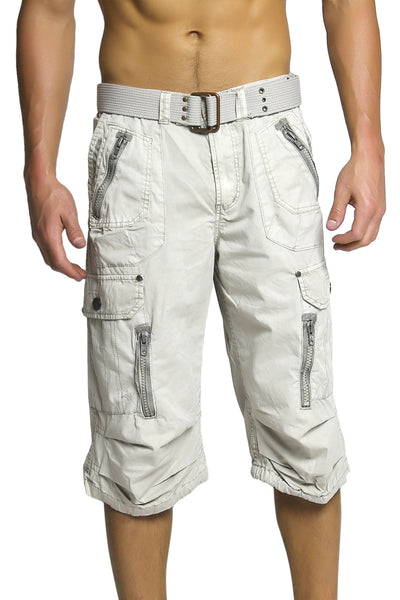 X-Ray Jeans Grey Islamorada Cargo Short - CheapUndies.com
