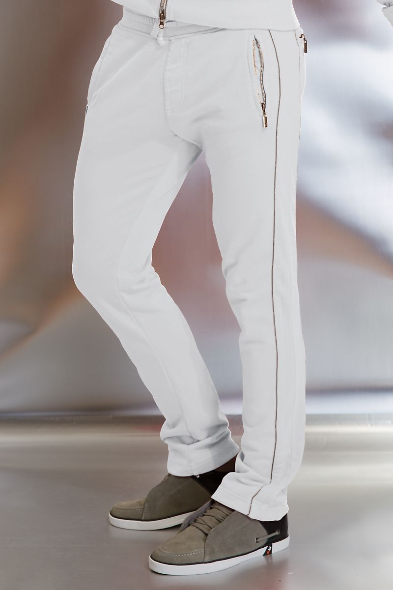 X-Ray Jeans White Track Pant